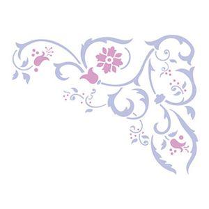 Stencil-Retangular-Arabescos-21x344-ST-022---Litoarte