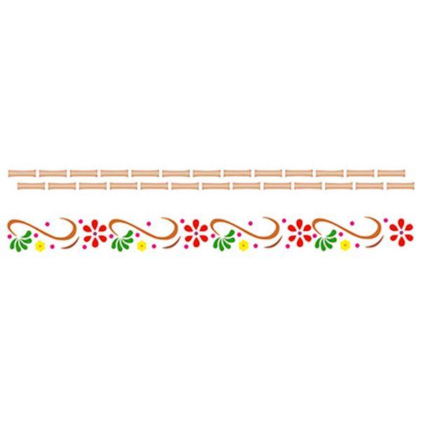 Stencil-Epoca-Arabesco-Flor-84x285-STE035---Litoarte
