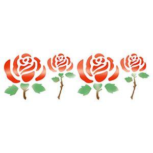 Stencil-Epoca-Rosas-84x285-STE040---Litoarte