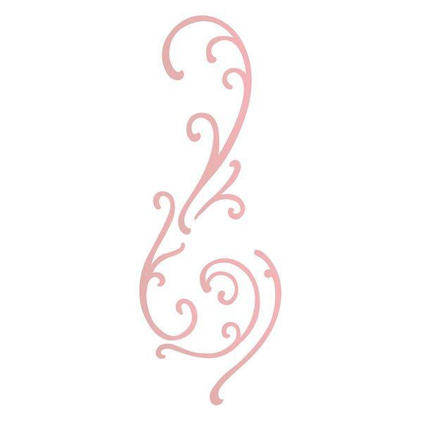 Estencil-para-Pintura-Simples-10x30-Arabesco-Ondas---OPA2211---Opa