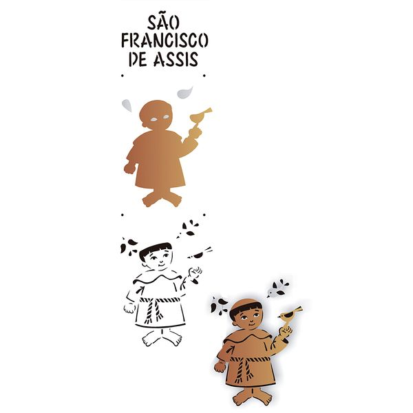 Estencil-para-Pintura-Simples-10x30-Sao-Francisco-de-Assis---OPA2163---Opa