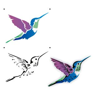 Estencil-para-Pintura-Simples-15x20-Beija-Flor-OPA2165---Opa