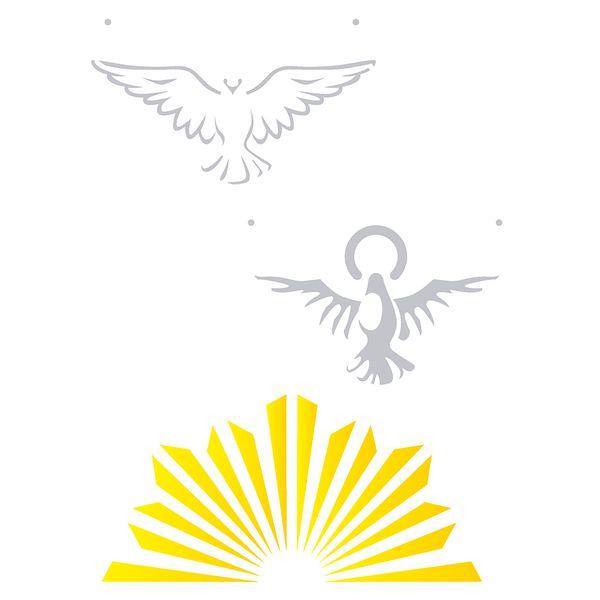 Estencil-para-Pintura-Simples-15x20-Religiao-Espirito-Santo-OPA2217---Opa