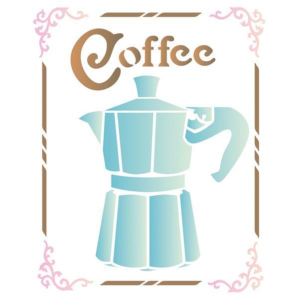 Estencil-para-Pintura-Simples-20x25-Coffee-OPA2180---Opa