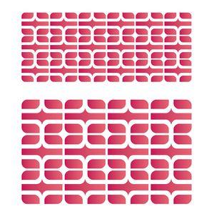 Estencil-para-Pintura-Simples-20x25-Estamparia-Retro-II-OPA2181---Opa