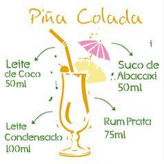 Estencil-para-Pintura-Simples-305x305-Drink-Piña-Colada-OPA2197---Opa