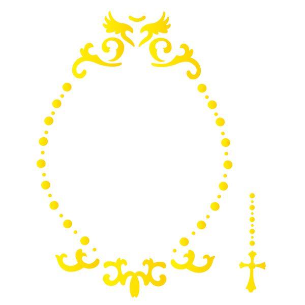 Estencil-para-Pintura-Simples-305x305-Moldura-Celestial-OPA2203---Opa
