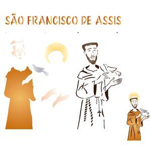 Estencil-para-Pintura-Simples-305x305-Sao-Francisco-de-Assis-OPA2206---Opa