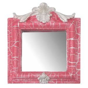 Moldura-Provencal-Retrato-Cantoneira-com-Espelho-Rosa-e-Branco-Craquele-135x11cm---Resina