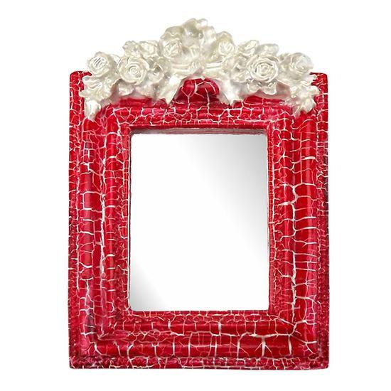 Moldura-Provencal-Retangular-Rosas-com-Laco-com-Espelho-Vermelho-e-Branco-Craquele-135x92cm---Resina