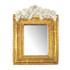 Moldura-Provencal-Retangular-Rosas-com-Laco-com-Espelho-Dourado-e-Branco-Craquele-135x92cm---Resina