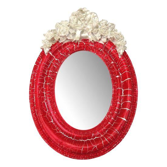 Moldura-Provencal-Oval-Rosas-com-Laco-com-Espelho-Vermelho-e-Branco-Craquele-95x14cm---Resina