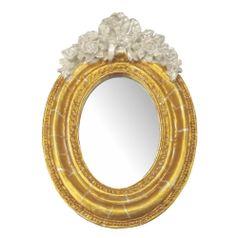 Moldura-Provencal-Oval-Rosas-com-Laco-com-Espelho-Dourado-e-Branco-Craquele-95x14cm---Resina