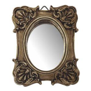 Moldura-Colonial-Cantoneira-e-Oval-com-Espelho-Betume-10x13cm---Resina