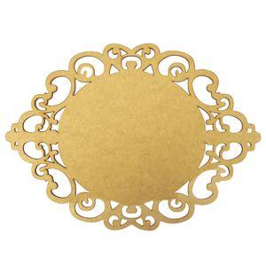 Moldura-em-MDF-Oval-Lisa-30x215cm-Provencal---Palacio-da-Arte