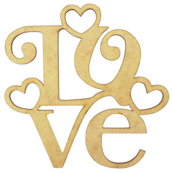 Aplique-Love-3-Coracoes-em-MDF-15x15cm---Palacio-da-Arte