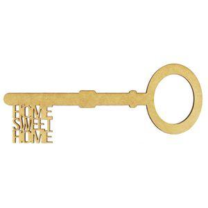 Aplique-Chave-Home-Sweet-Home-em-MDF-10x4cm---Palacio-da-Arte
