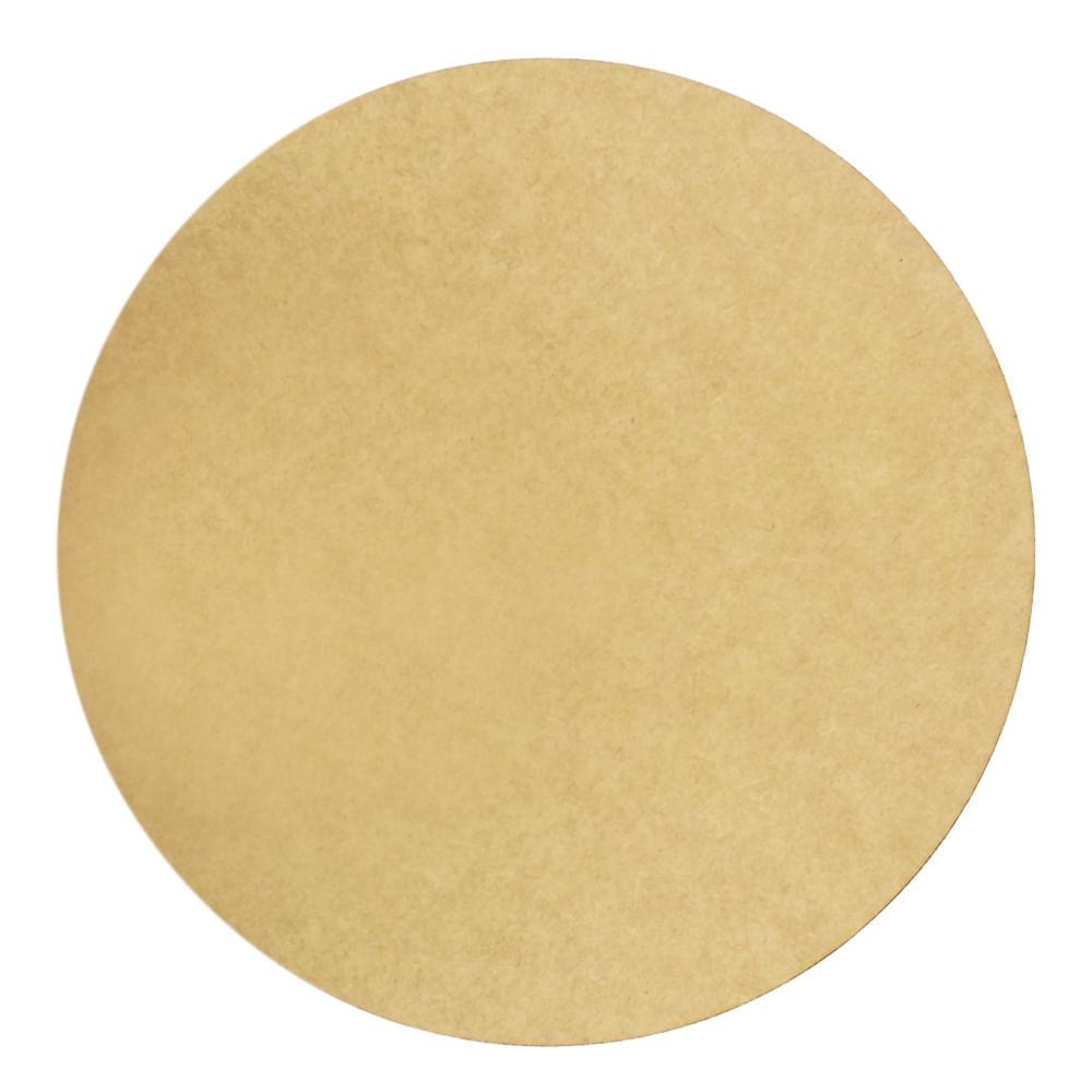 Placa De Corte Redondo De Madeira De Madeira De Corte Circular Liso Decoupage 20cm 8 Polegadas