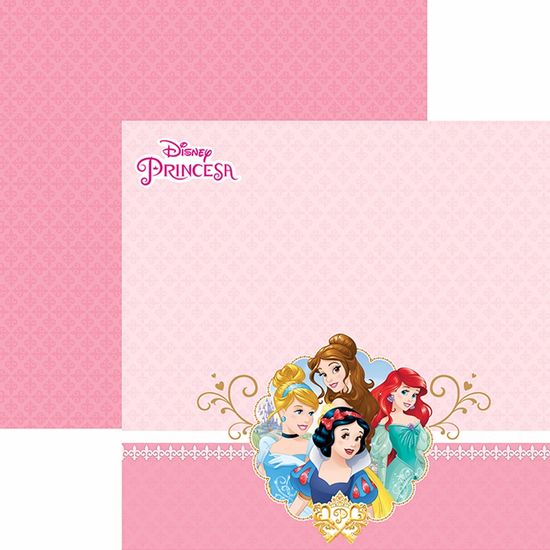 Papel-Scrapbook-Dupla-Face-305x305cm-Princesas-2-Paisagem-SDFD-053---Toke-e-Crie