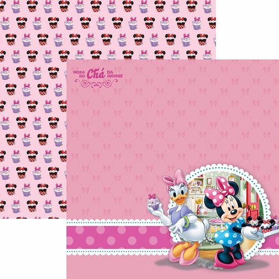 Papel-Scrapbook-Dupla-Face-305x305cm-Hora-do-Cha-com-a-Minnie-2-Paisagem-SDFD-107---Toke-e-Crie