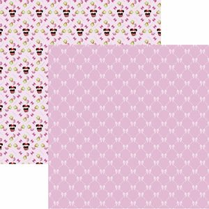 Papel-Scrapbook-Dupla-Face-305x305cm-Hora-do-Cha-com-a-Minnie-1-Estampado-SDFD-129---Toke-e-Crie