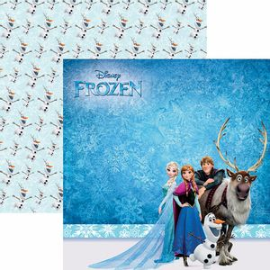 Papel-Scrapbook-Dupla-Face-305x305cm-Frozen-2-Paisagem-SDFD-099---Toke-e-Crie