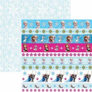 Papel-Scrapbook-Dupla-Face-305x305cm-Frozen-2-Faixas-SDFD-101---Toke-e-Crie