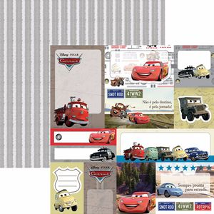 Papel-Scrapbook-Dupla-Face-305x305cm-Carros-2-Tags-SDFD-094---Toke-e-Crie