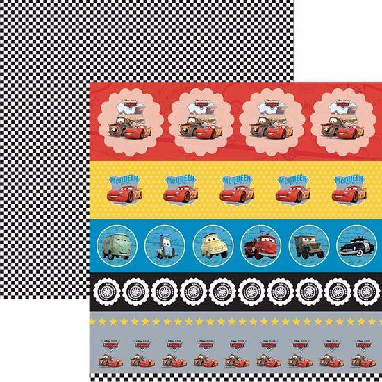 Papel-Scrapbook-Dupla-Face-305x305cm-Carros-1-Selos-e-Tags-SDFD-115---Toke-e-Crie