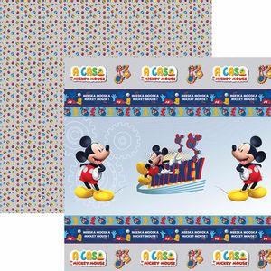 Papel-Scrapbook-Dupla-Face-305x305cm-A-Casa-do-Mickey-1-Fitas-e-Rotulos-SDFD-119---Toke-e-Crie
