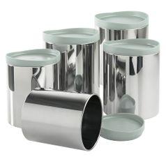 Conjunto-de-Potes-para-Mantimentos-em-Aco-Inox-com-Tampa-em-Polipropileno-5-Pecas-Menta-2117-192---Brinox