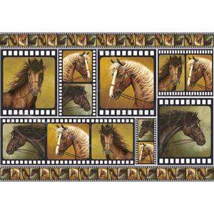 Papel-Decoupage-343x49cm-Cavalos-I-PD-168---Litoarte