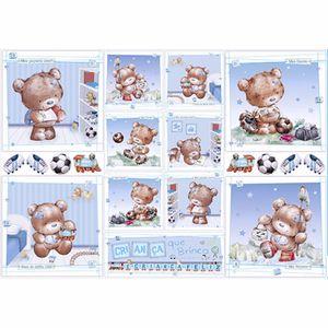 Papel-Decoupage-343x49cm-Ursos-Brincando-PD-172---Litoarte