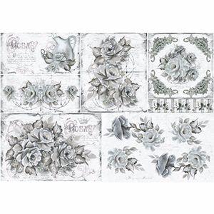 Papel-Decoupage-343x49cm-Rosas-Pretas-e-Brancas-PD1-067---Litoarte-by-Lili-Negrao