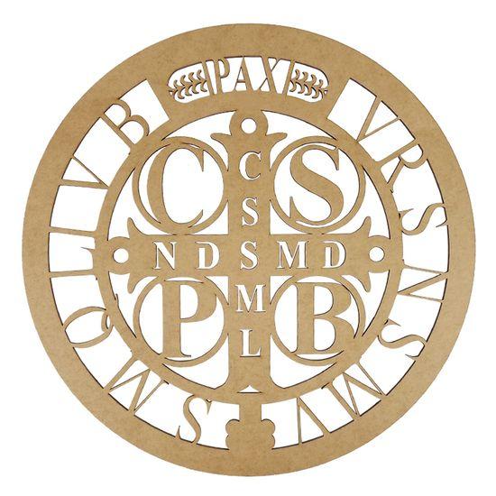 Mandala-Medalha-de-Sao-Bento-em-MDF-15x15cm---Palacio-da-Arte