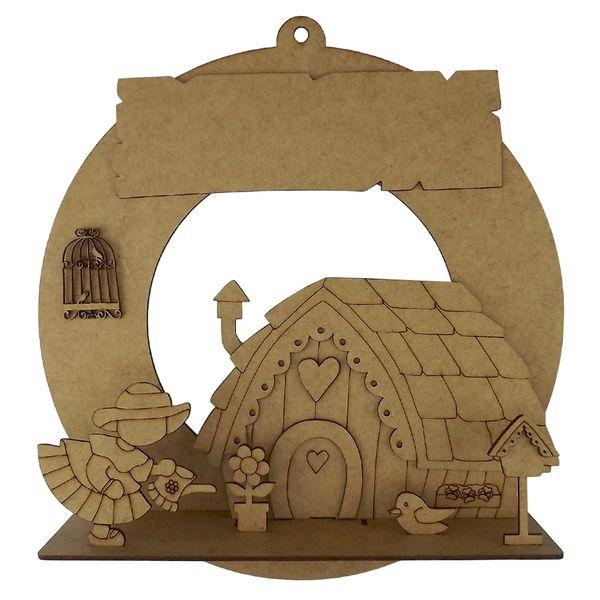 Guirlanda-Redonda-Enfeite-de-Porta-Casa-e-Jardim-3D-com-placa-315cm---Palacio-da-Arte
