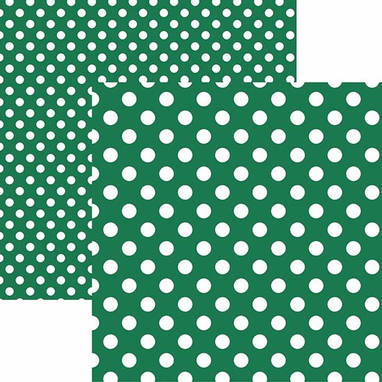 Papel-Scrapbook-Dupla-Face-Basico-305x305cm-Poa-Grande-Verde-KFSB470---Toke-e-Crie-by-Mariceli