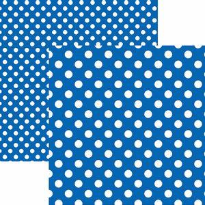 Papel-Scrapbook-Dupla-Face-Basico-305x305cm-Poa-Grande-Azul-Royal-KFSB471---Toke-e-Crie-by-Mariceli