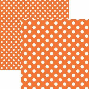 Papel-Scrapbook-Dupla-Face-Basico-305x305cm-Poa-Grande-Laranja-KFSB474---Toke-e-Crie-by-Mariceli