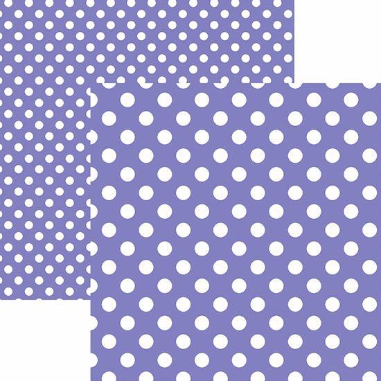 Papel-Scrapbook-Dupla-Face-Basico-305x305cm-Poa-Grande-Roxo-KFSB475---Toke-e-Crie-by-Mariceli