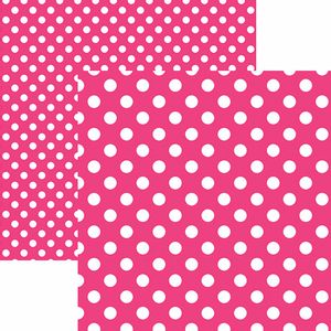 Papel-Scrapbook-Dupla-Face-Basico-305x305cm-Poa-Grande-Rosa-KFSB477---Toke-e-Crie-by-Mariceli