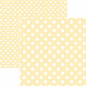 Papel-Scrapbook-Dupla-Face-Basico-305x305cm-Poa-Grande-Marfim-KFSB479---Toke-e-Crie-by-Mariceli