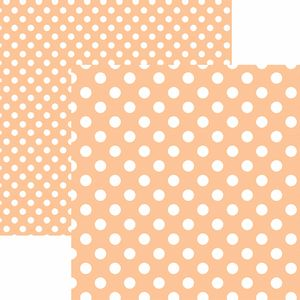Papel-Scrapbook-Dupla-Face-Basico-305x305cm-Poa-Grande-Coral-KFSB483---Toke-e-Crie-by-Mariceli