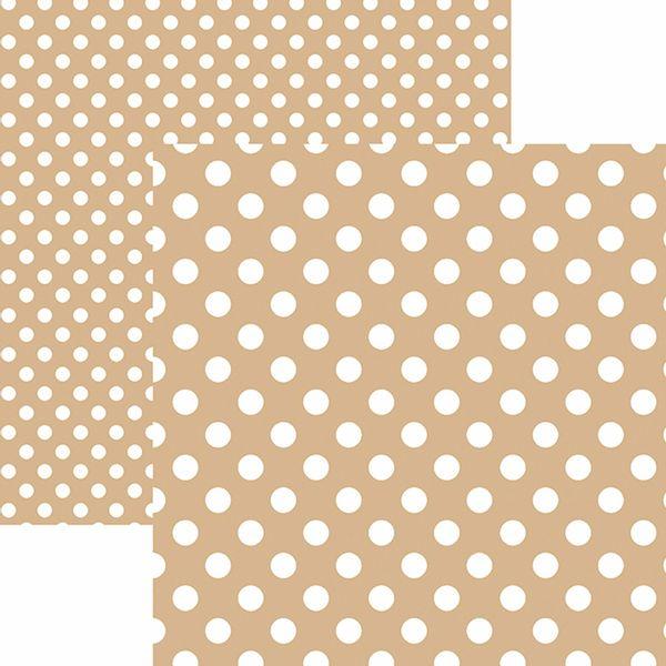 Papel-Scrapbook-Dupla-Face-Basico-305x305cm-Poa-Grande-Cafe-com-Leite-KFSB487---Toke-e-Crie-by-Mariceli