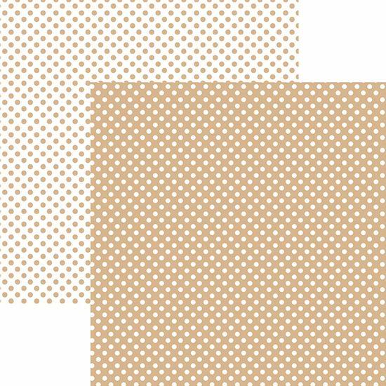 Papel-Scrapbook-Dupla-Face-Basico-305x305cm-Poa-Pequeno-Cafe-com-Leite-KFSB467---Toke-e-Crie-by-Mariceli