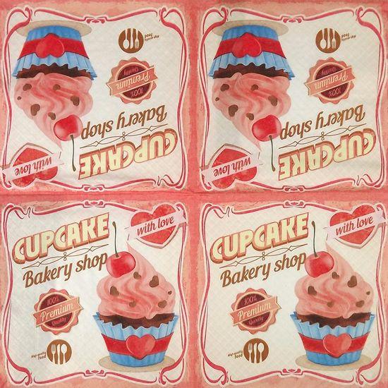 Guardanapo-Decoupage-Amor-de-Cupcake-2-unidades-GUA200280---Toke-e-Crie