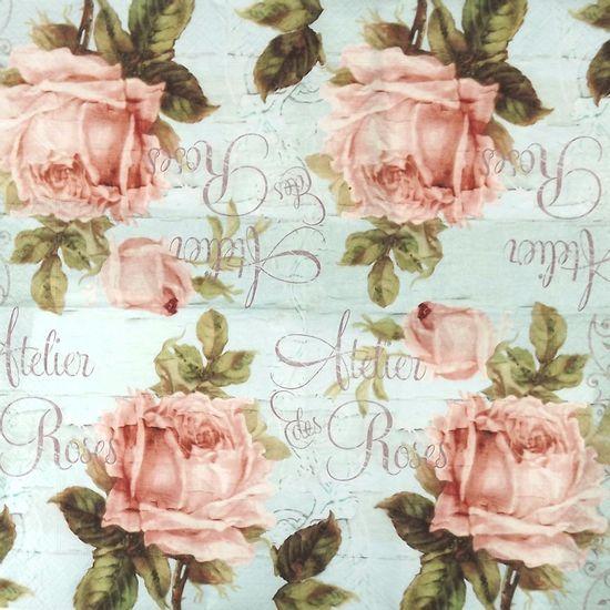 Guardanapo-Decoupage-Atelie-de-Rosas-2-unidades-GUA21833---Toke-e-Crie