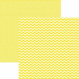 Papel-Scrapbook-Dupla-Face-Basico-305x305cm-Chevron-Amarelo-KFSB409---Toke-e-Crie-by-Mariceli