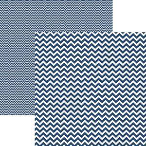 Papel-Scrapbook-Dupla-Face-Basico-305x305cm-Chevron-Azul-Marinho-KFSB412---Toke-e-Crie-by-Mariceli