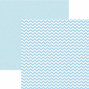 Papel-Scrapbook-Dupla-Face-Basico-305x305cm-Chevron-Azul-Claro-KFSB421---Toke-e-Crie-by-Mariceli